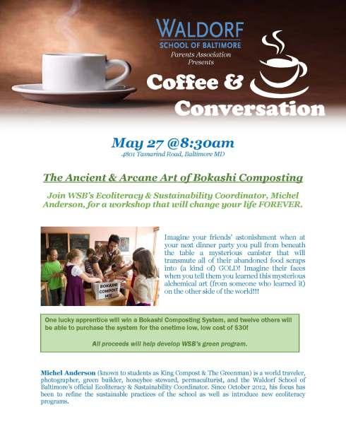Coffee BOKASHI 5-27-14