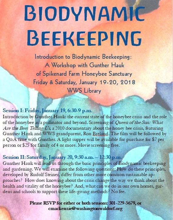 WWS beekeeping flyer